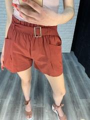 шорты с ремнем женские nadya