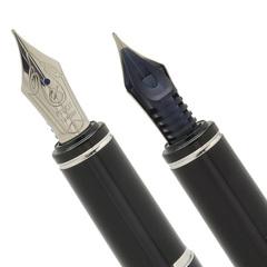 Перьевая ручка Pilot Grance NC (цвет: серебристый, перо: Fine)