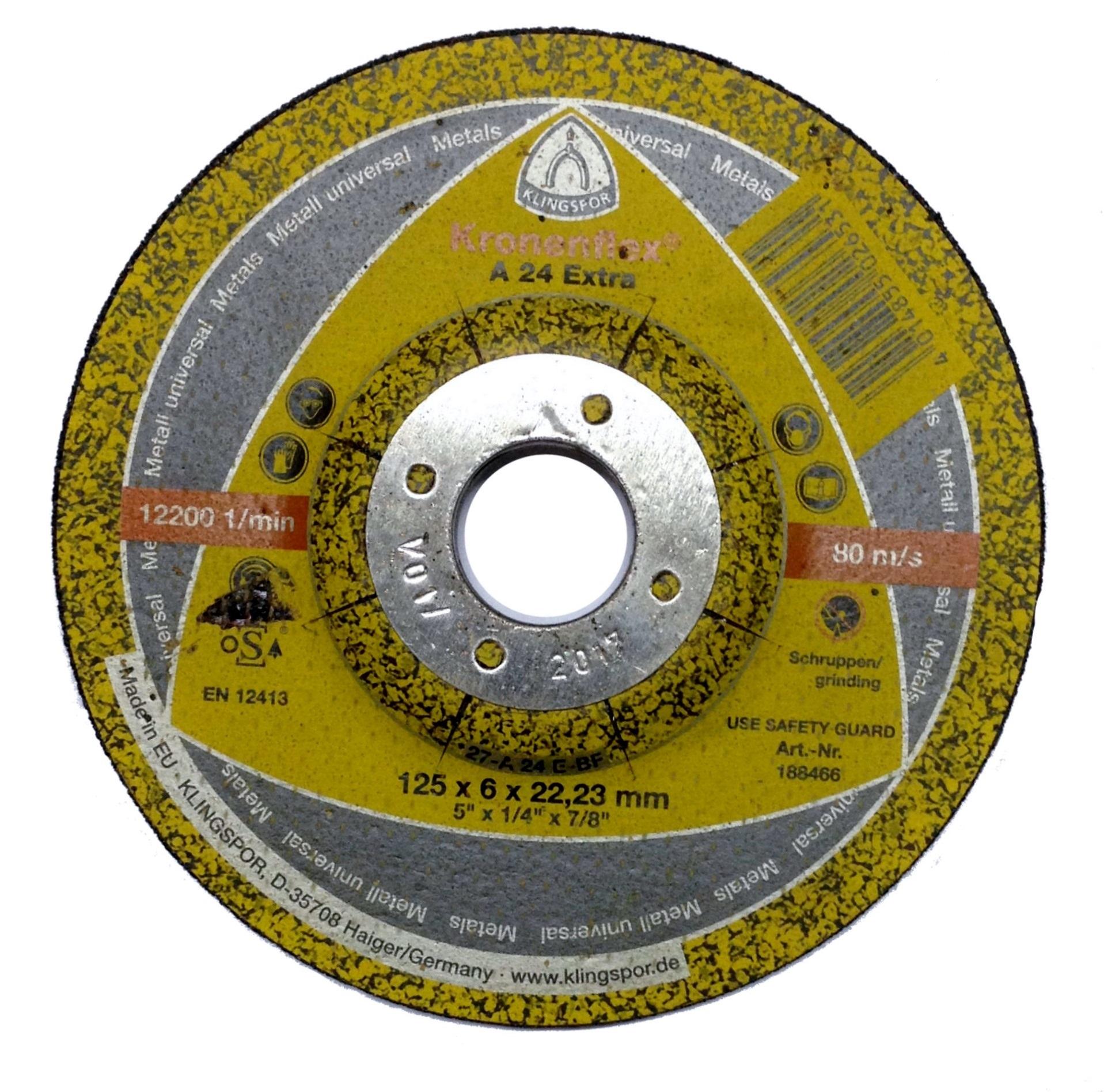 Круг шлифовальный 125*6*22  А24Extra (188466)