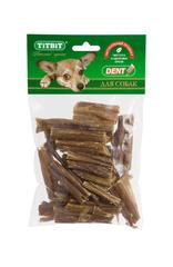 Лакомство для собак TitBit Кишки говяжьи мини (мягкая упаковка)