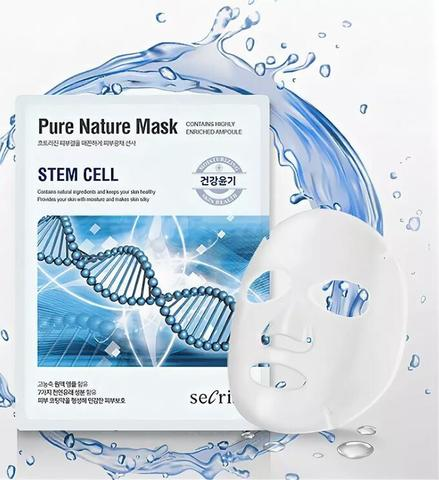 Маска для лица тканевая Anskin со стволовыми клеткам 25 мл
