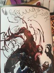 Веном против Карнажа (Лимитированная обложка БигФест 2017) С автографом Питера Миллигана
