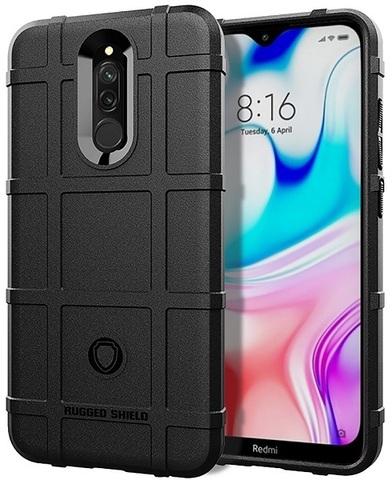 Чехол для Xiaomi Redmi 8 цвет Black (черный), серия Armor от Caseport