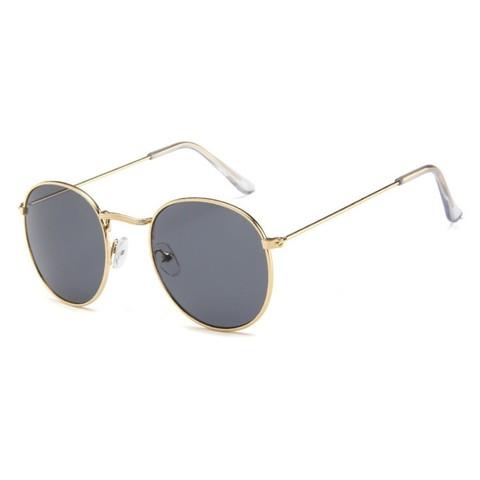Солнцезащитные очки 3447002s Черный с золотой оправой