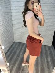 шорты с ремнем женские недорого