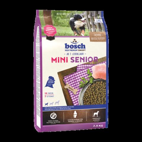 Bosch Mini Senior Сухой корм для пожилых собак мелких пород