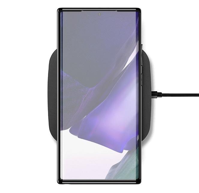 Чехол синего цвета на телефон Samsung Galaxy Note 20 Ultra, высокий уровень защиты, серия Onyx от Caseport