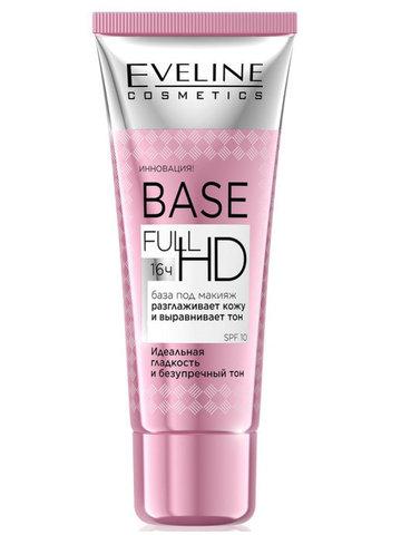 EVELINE База под макияж разглаживающе-выравнивающая серии BASE FULL HD, 30мл