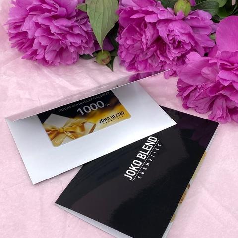 Подарунковий сертифікат Joko Blend на 1000 грн. (2)