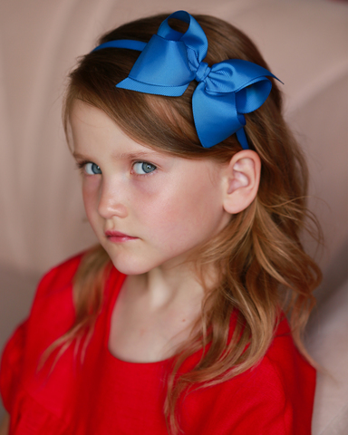 JASMINE bow on clip