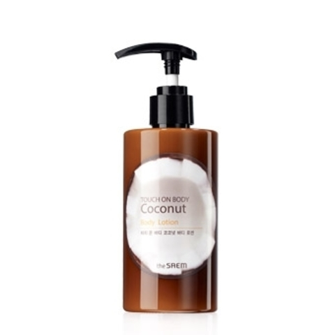 TOUCH ON BODY Coconut Body Lotion