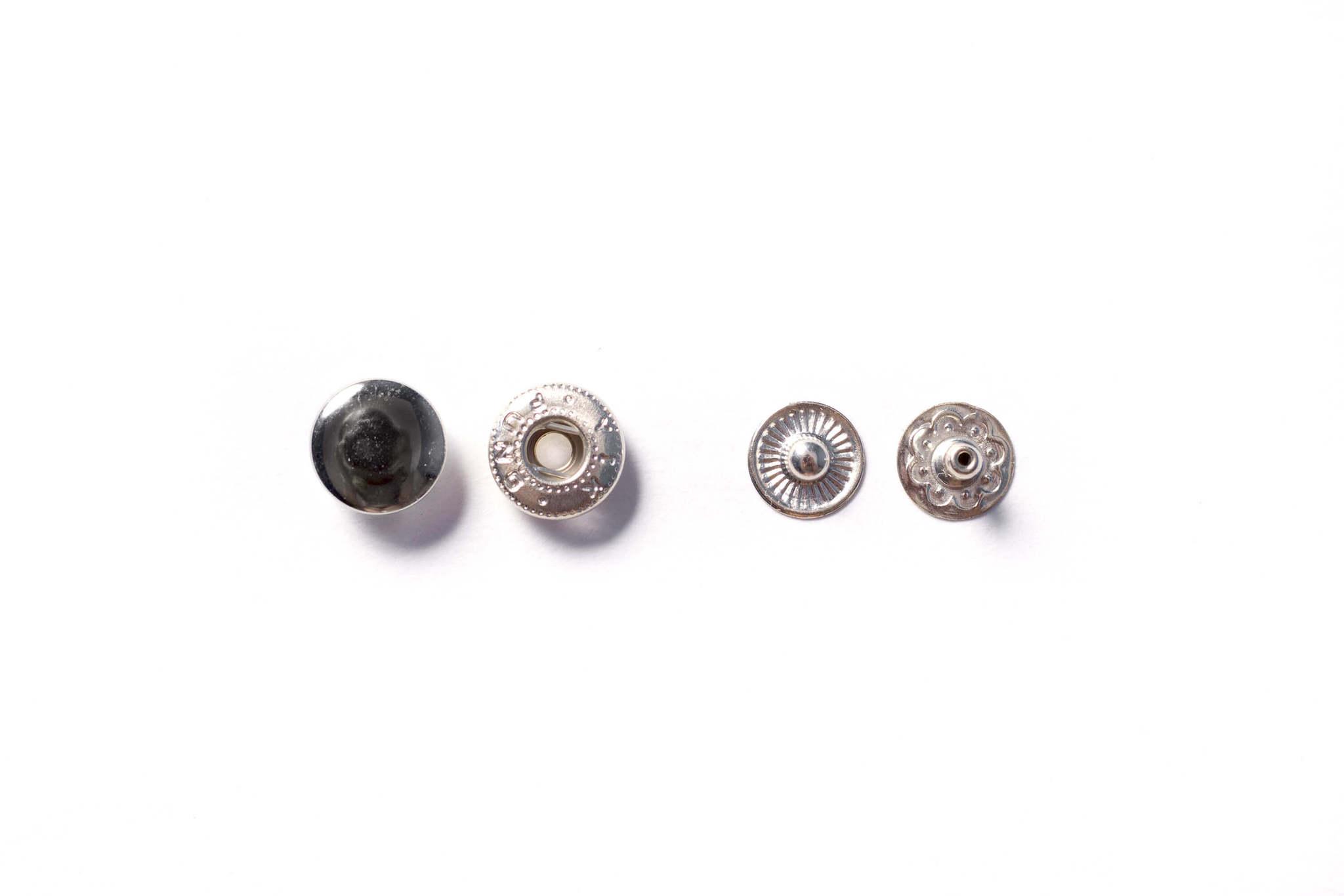 Кнопки металлические 10 мм