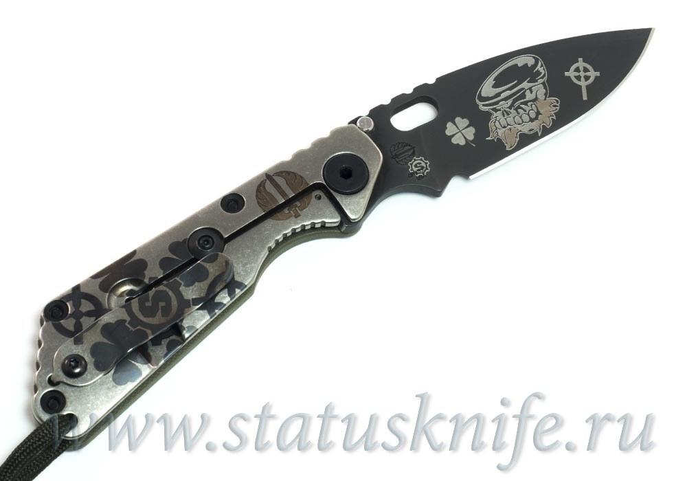 "Нож Strider Starlingear ""Irish Bruiser"" SNG Collab limited - фотография"