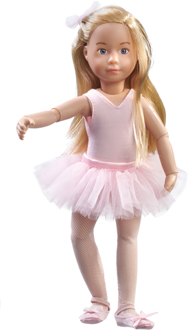 Kruselings. Кукла Вера балерина, 23 см.