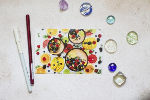 Смузи со свежими фруктами