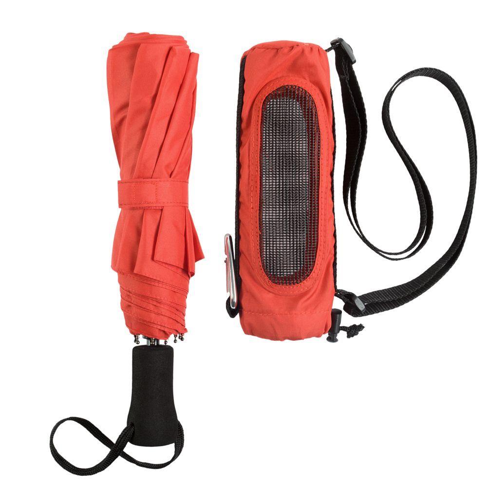 Hogg Trek Foldable Umbrella, red