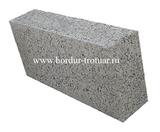 Блок керамзито-бетонный перегородочный полнотелый