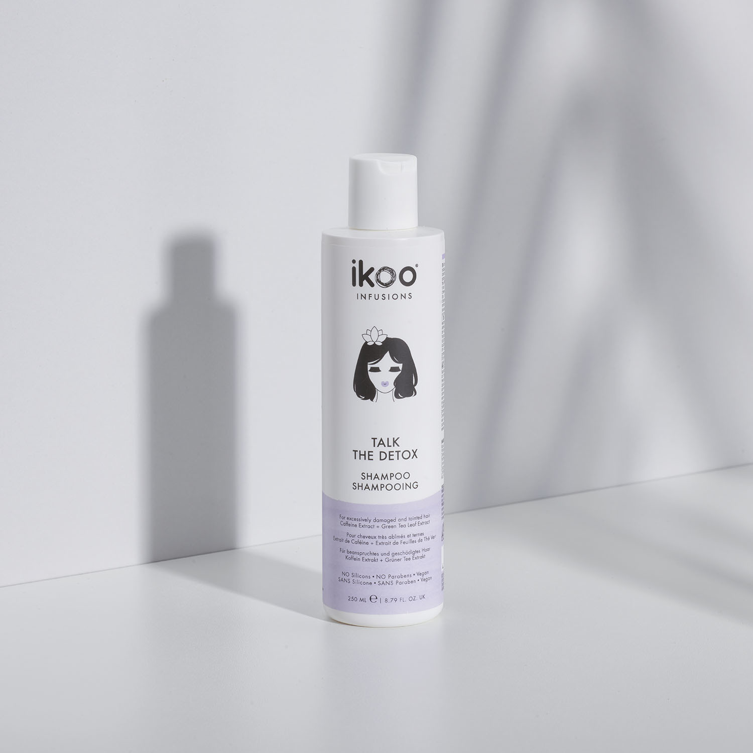 Шампунь ikoo infusions Talk the Detox Shampoo «ДЕТОКС ПРОКАЧКА», 250 мл.