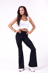 Женские лосины Nebbia 70's Fancy flared pants 667 black