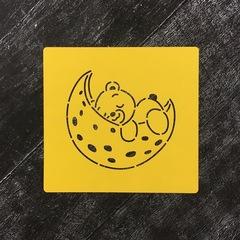 Мишка на луне №1