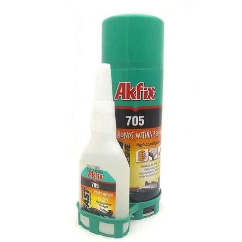 Супер Клей Akfix 705 125 гр + 500 мл активатор