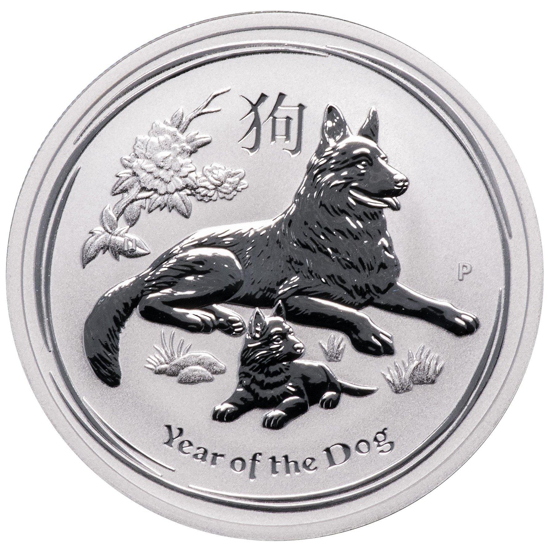 """50 центов """"Год Собаки"""". Австралия. 2018г."""