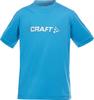 Футболка Craft Light Logo для юниоров  голубая