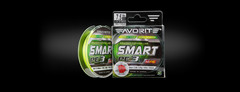 Шнур Favorite Smart PE 3X 150m (fluo yellow) #0.8/0.153mm 6.8kg