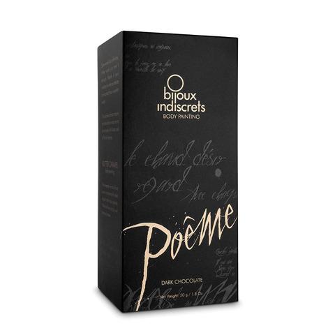 Bijoux Indiscrets Poеme Dark Chocolate Краска для тела Темный Шоколад, 50г