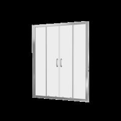 Душевое ограждение Good Door LATTE WTW-TD-160-C-WE 160 см