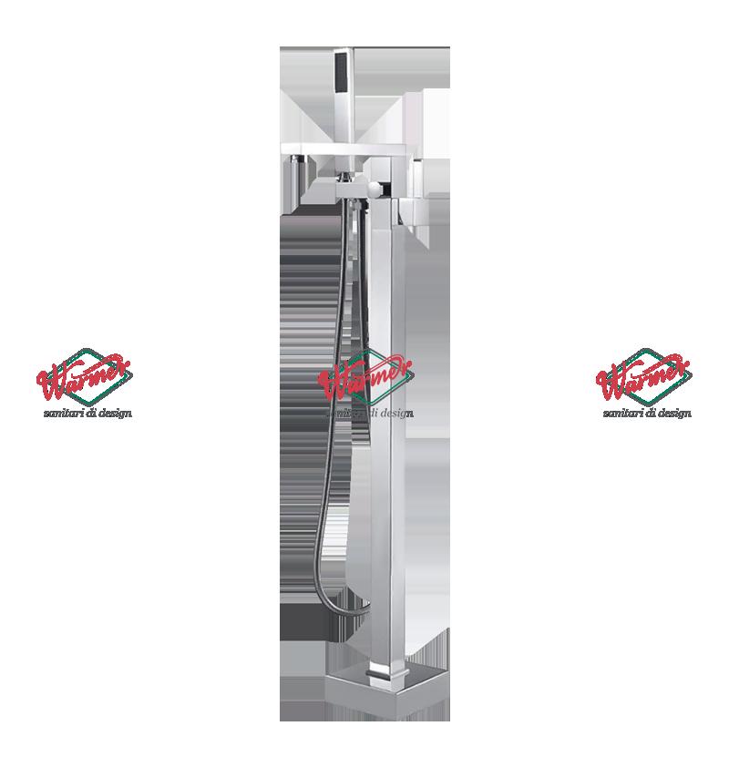 Смесители для ванны и душа Смеситель для ванны напольный Warmer Chrome Line C-1070220 WOV-005539-_7_.png