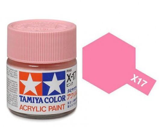 Tamiya Акрил X-17 Краска Tamiya, Розовый Глянцевый (Pink), акрил 10мл import_files_b9_b9307ee45a8411e4bc9550465d8a474f_e3fbec1b5b5511e4b26b002643f9dbb0.jpg