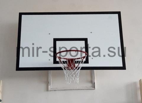 Баскетбольный щит с кольцом