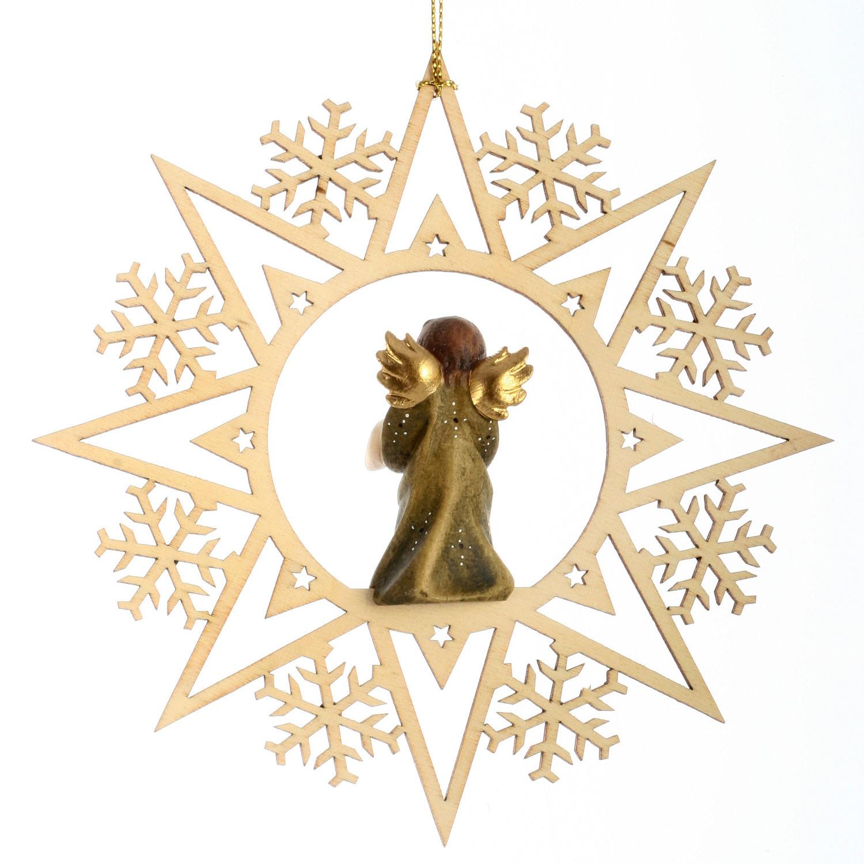 Ангел с подарком со стразами Сваровски