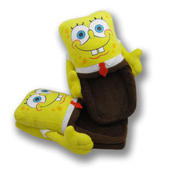 Slipper Plush SpongeBob Squarepants