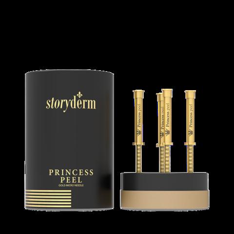 Пилинг - крем с золотыми микроиглами Premium Princess Peel Набор