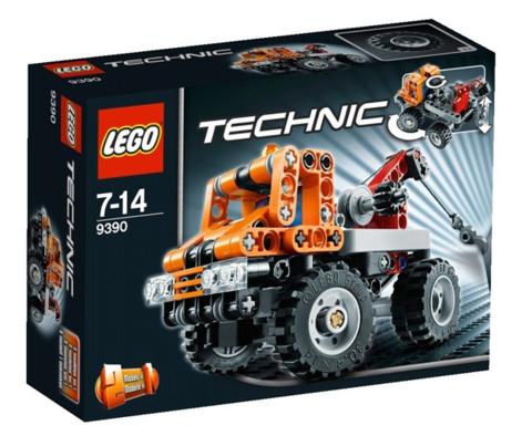 LEGO Technic: Эвакуатор 9390 — Mini Tow Truck — Лего Техник