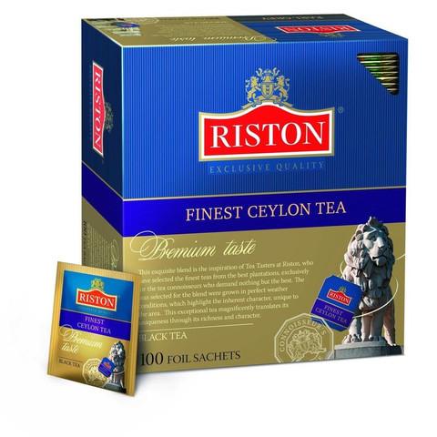 Чай Riston Finest Ceylon черный 100 пакетиков