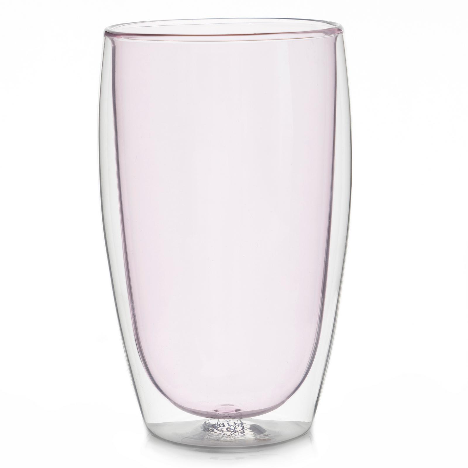 Все товары Стеклянный стакан с двойными стенками розового цвета, 450 мл розовый1.jpg