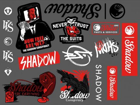 Набор наклеек Shadow Sticker Pack 2020