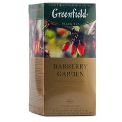 """Чай черный """"Greenfield"""" Barberry Garden 25 пакетиков по 1,5г"""