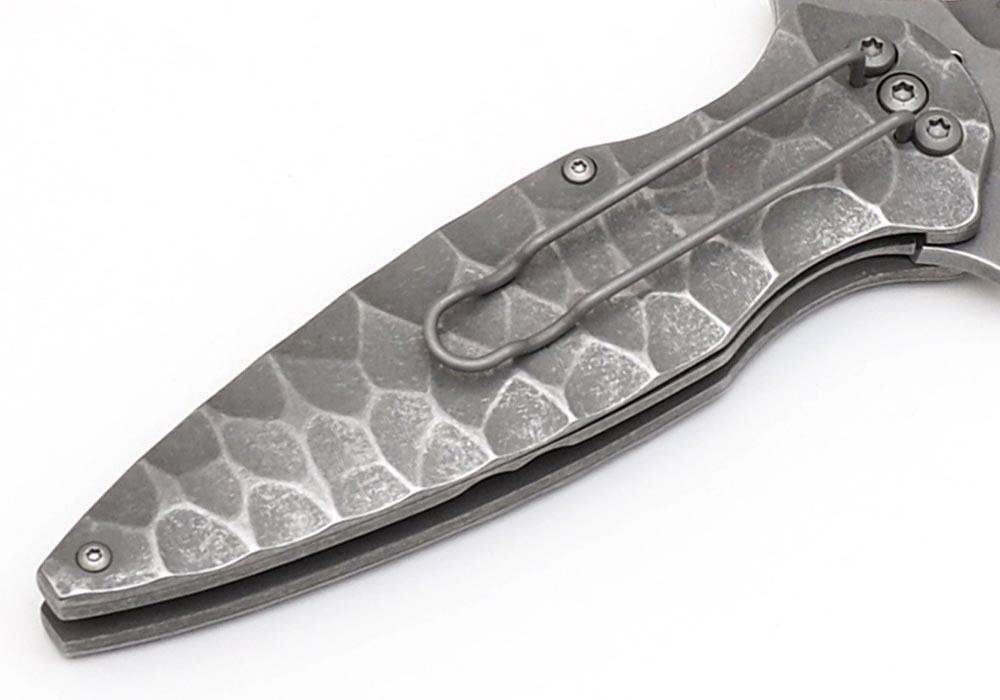 Нож Boker Flint Titanium - фотография