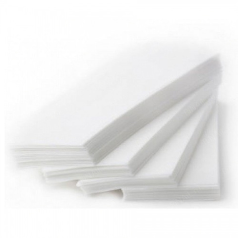 Бумажные полоски Белые 100шт