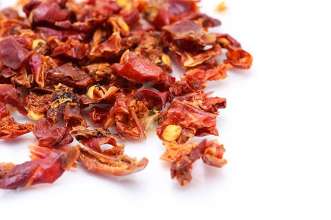 Перец красный сушеный резаный 1 кг.
