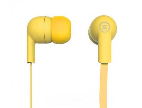 Наушники вакуумные S-Music Start CX-110 yellow
