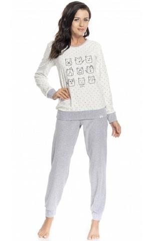 Пижама женская с принтом