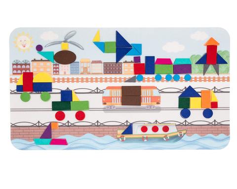 Коврик-мозаика Большой город, Smile Decor