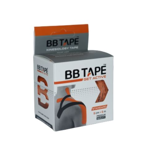 BBtape кинезио тейп 5см х 5м (оранжевый) NEW