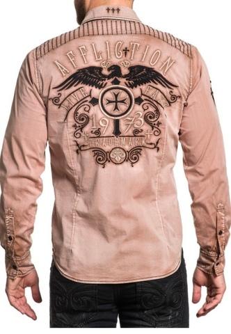 Affliction рубашка мужская 347