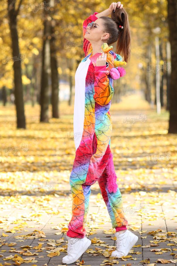 Пижамы кигуруми Единорог Драконовый (на молнии) unicorn-dragon_molnia4.jpg